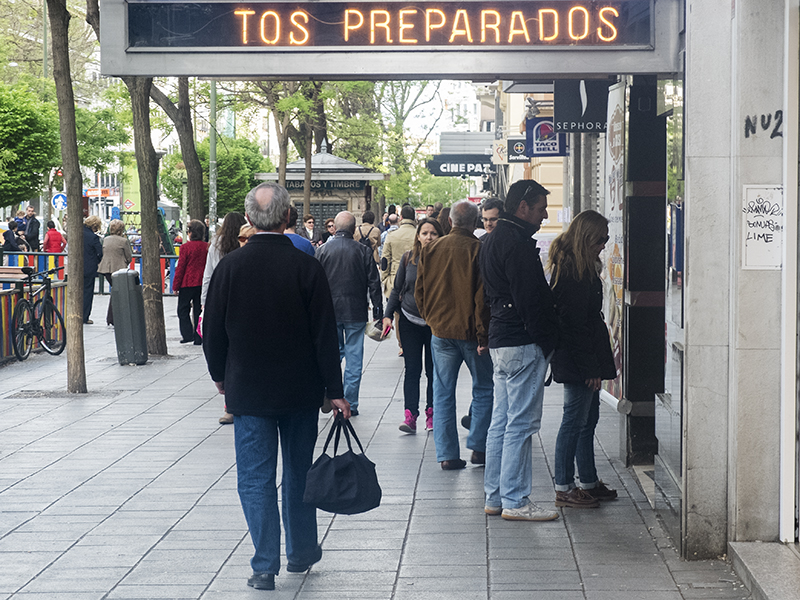 Madrid, abril 2014